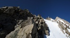 2013-04-20 - 08 - Climbing the E Ridge after crossing the Gendarme