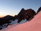 2013-06-23 - 02 - Norman Clyde Peak in morning alpenglow