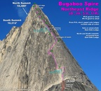 2013-08-03 - 013 - Bugaboo Spire NE Ridge - IMG 2325 - annotated close-2