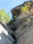 2013-09-28 - 010 - Chockstone Chimney - IMG 3173