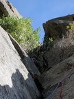 2013-09-28 - 011 - Chockstone Chimney - IMG 3174