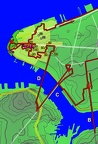 1 - Downtown - Manhattan Traverse w GPS track
