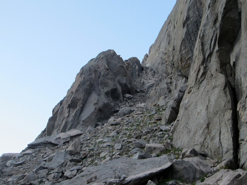 2012-08-23 - 05 - Approach Ledges above Arrowhead Lake.jpg