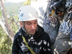 2011-12-04 - 02d - Luca at P1 Belay - by Ephrat