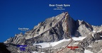 2010-08-22 - 04 - Bear Creek Spire - Annotated