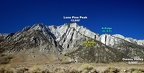 2010-09-11 - 09 - Lone Pine Peak N   NE Ridges - annotated