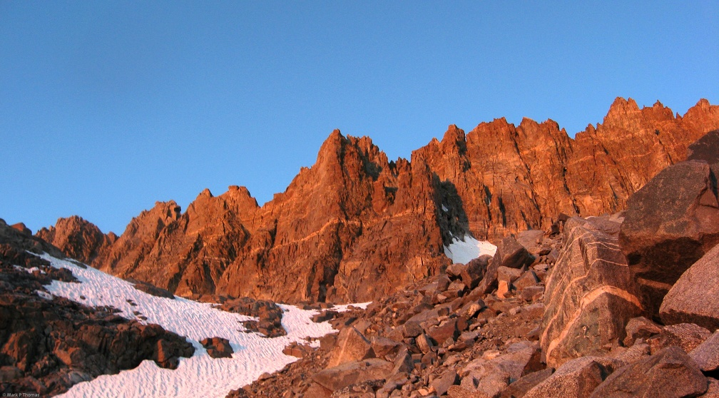 2010-08-08 - 01 - Palisade Crest Alpenglow