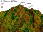 NE Ridge - Closeup