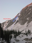 2008-06-29 - 02 - Apex Couloir and Descent Slope - Annotated