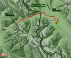 03 - Lake Louise-Field - Route Map