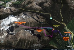 02ab - Lake Louise Area - Fairview - GE Route Map