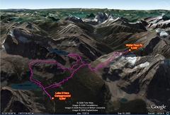 02b1 - Lake Louise Area - Walter Feuz - GE Route Map
