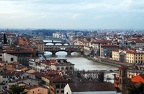 2009-02-05 - 18 - Florence - Arno River   Ponte Vecchio from Palazzo Michelangelo