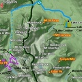 02b1 - Lake Louise Area - Walter Feuz - Route Map