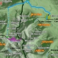 02b2 - Lake Louise Area - Abbot Pass - Route Map